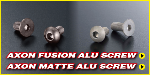AXON matte alu screw|PRODUCTS|AXON(アクソン)電動ラジコンパーツ